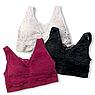 Топ «Ажур Бра», розовый, XL, фото 3