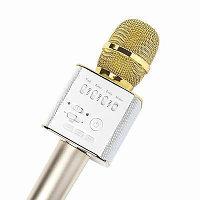 Беспроводной караоке микрофон Tuxun Q9 - Gold