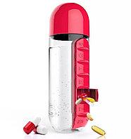 Бутылка с органайзером для таблеток Pill and Vitamin Organizer