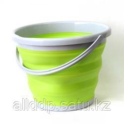 Ведро складное силиконовое 10 литров - Folding Bucket