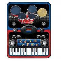 Музыкальный коврик 2 в 1 Musical Drum Kit Playmat
