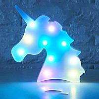 Пластмассовый cветильник - Единорог