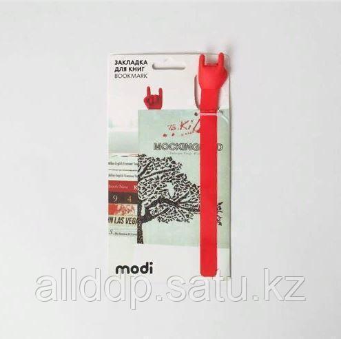 Закладка для книг - жест Коза - фото 1