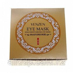 Гидрогелевые патчи под глаза с био золотом и спирулиной Venzen