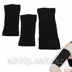 Японские манжеты для сжигания жира на руках, черные
