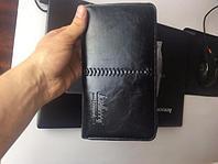 Портмоне мужское Baellerry Leather (Баэлери Лэже), черное