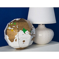 Скретч глобус мира