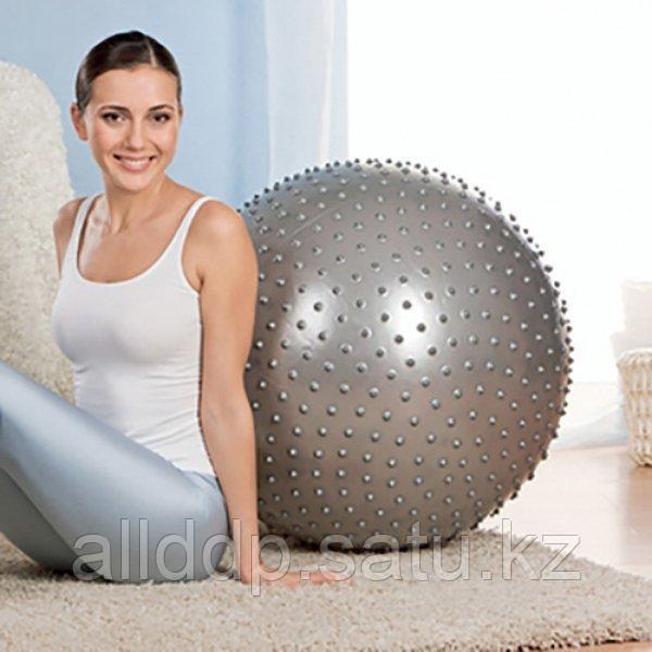 Мяч массажный Massage Ball 65 см с насосом MB-02 - фото 1