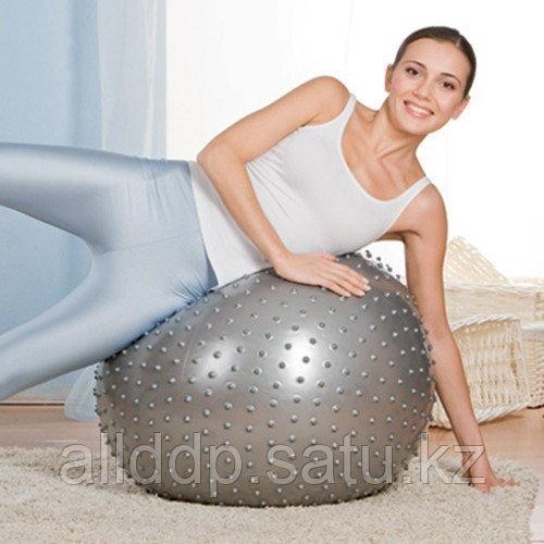 Мяч массажный Massage Ball 65 см с насосом MB-02 - фото 4