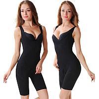 Комбидресс корректирующий фигуру Slim Shapewear черный, L-XL
