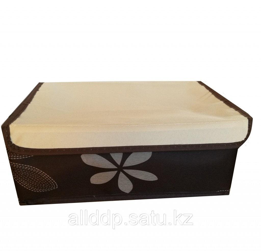 Короб для хранения с 8-ю ячейками, коричневый