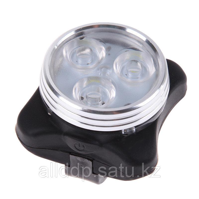 Универсальный фонарь для велосипеда LED Light Combo Zecto Drive HJ-030, USB, белый