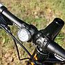 Универсальный фонарь для велосипеда LED Light Combo Zecto Drive HJ-030, USB, белый, фото 4