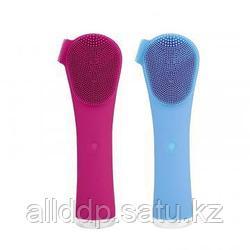 Массажная щетка для чистки лица Hand Cleanser Electric, розовый