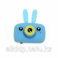 Детский фотоаппарат Зайцы Kids fun camera, голубой