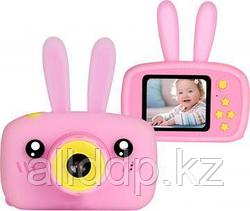 Детский фотоаппарат Зайцы Kids fun camera, розовый