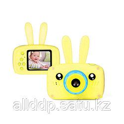 Детский фотоаппарат Зайцы Kids fun camera, жёлтый