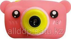 Детский фотоаппарат Мишки Kids fun camera, розовый