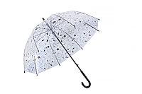 Зонт прозрачный - Коты