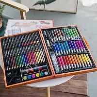 Набор для рисования Artistic Set 150 в деревянном кейсе