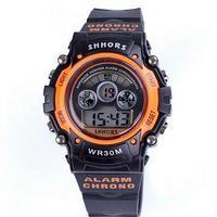 Спортивные цифровые LED часы SHHORS HT-353 .