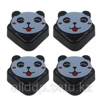 Мягкие накладки на углы Зверята Beideli, 4 шт, панда