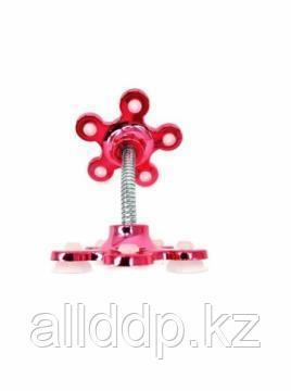 Гибкий держатель телефона на присосках Magic Suction Cup Phone Bracket, красный