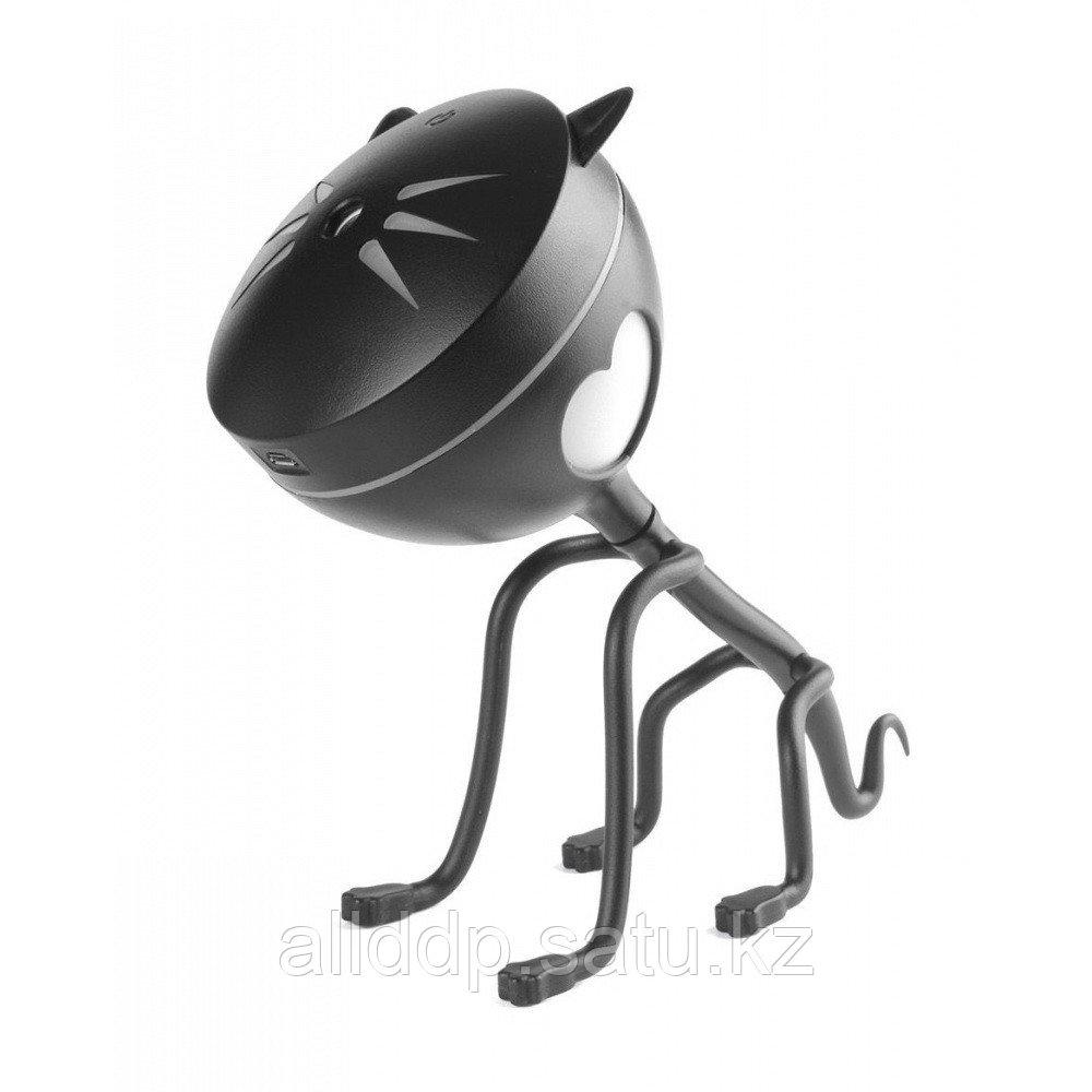 Увлажнитель-ароматизатор воздуха - Котик, чёрный