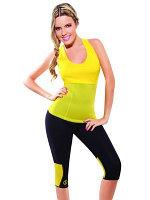 Майка для похудения - Body Shaper, размер XXXL (жёлтый)