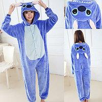 Пижама кигуруми Стич, детский, 90-100 см