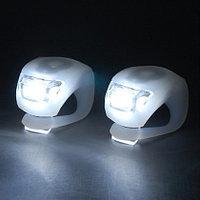 Яркие LED фонари на руль велосипеда