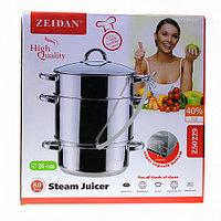 Соковарка ZEIDAN Z-50229 обьем 8л, нержавеющая сталь