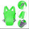 Рюкзак-слинг для переноски ребенка Baby Carriers, 3-12 месяцев, салатовый, фото 2