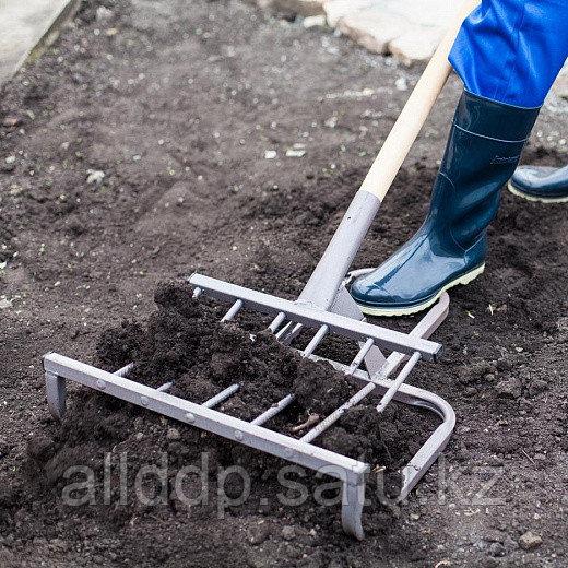 Чудо-лопата, рыхлитель - Крот-Б, кованый (ширина копки 550мм)
