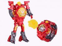 Часы-игрушка трансформер Robot Watch, красный