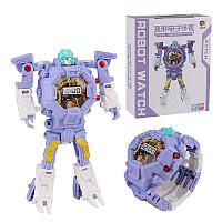 Часы-игрушка трансформер Robot Watch, фиолетовый