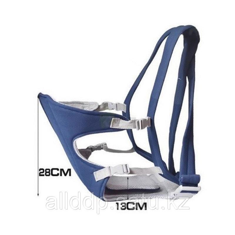 Рюкзак-слинг для переноски ребенка Baby Carriers, 3-12 месяцев, синий