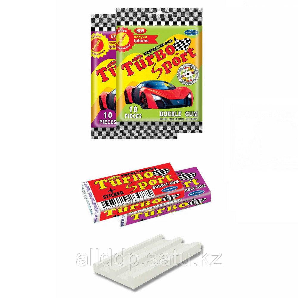 Жвачка - Turbo, пакет 10 шт