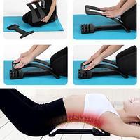 Тренажер для спины с массажными выступами Magic Back (94 массажных шипа+каучуковая подкладка)