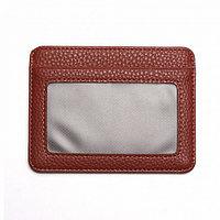 Baellerry (Баэлери) тонкий кошелек для карт и пропуска, коричневый