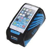 Велосипедная сумка на раму под смартфон B-Soul, 21х9,5х9,5 см, синий