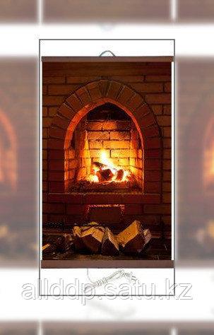 Гибкий настенный обогреватель Доброе тепло - Камин - фото 1