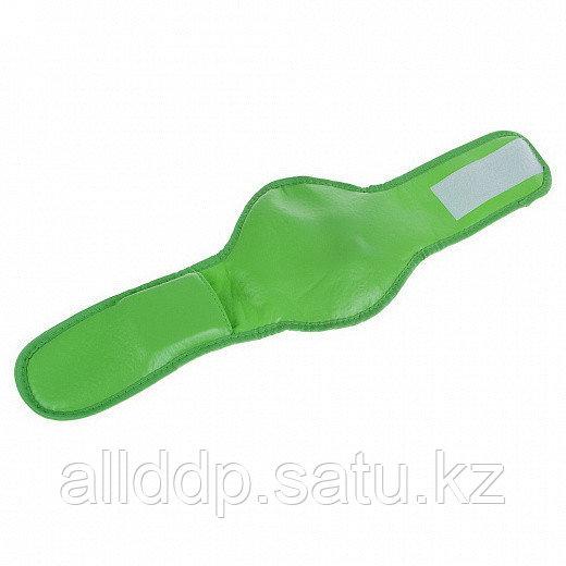 Массажёр LuazON LMZ-048 для шеи, электрический, 4 ААА (не в комплекте), зелёный