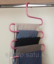 Вешалка для брюк - Тремпель, розовый