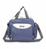 Компактная сумка для мамы Baby, 36х9х26 см, синий