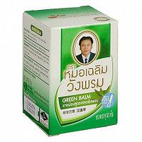 Тайский фитобальзам для тела зеленый от воспаления и защемления нервов, WangProm, 50 гр.