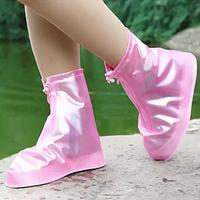 Защитные чехлы для обуви от грязи и дождя для детей, розовый