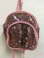 Рюкзак с пайетками меняющий цвет, малый, цвет микс