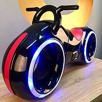 Беговел Tron Bike, чёрный-красный