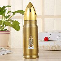 Термос - Пуля 500 мл, золотой